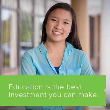 Education is the best investment you can make